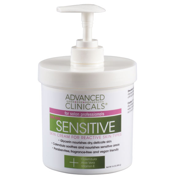 Sensitive Skin Care Cream, 16 oz.