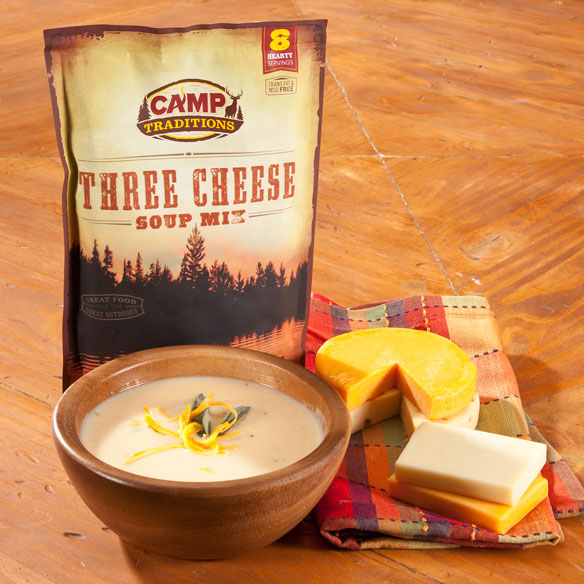 Camp Traditions Three Cheese Soup Mix
