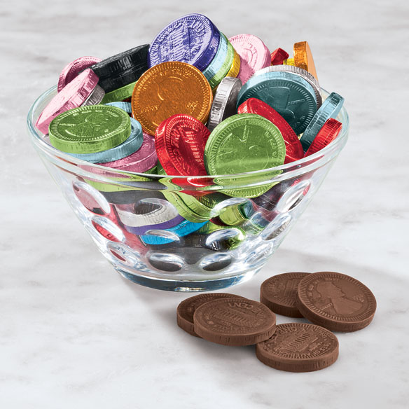 Fort Knox Mixed Color Milk Chocolate Pennies