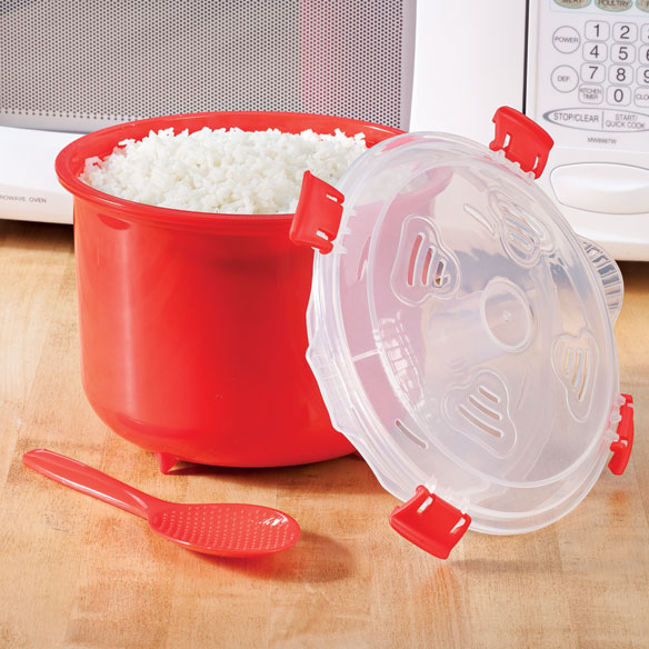 decor microwave rice cooker instructions