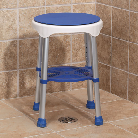 Compact Swivel Stool - View 1