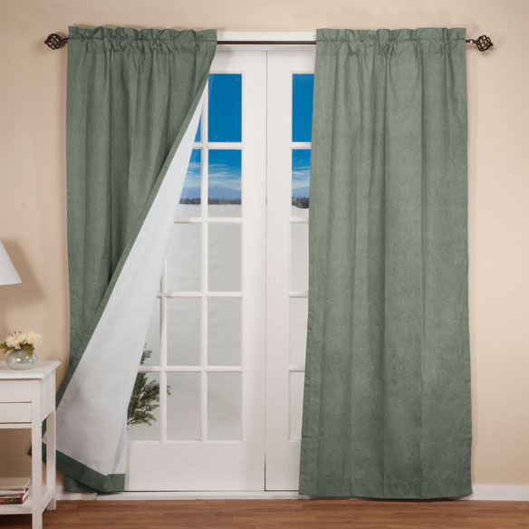 Pole Top Energy-Saving Curtains - View 1