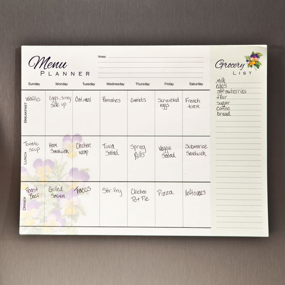 Grocery and Meal Planner