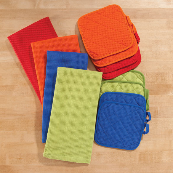Solid 3-Pc. Kitchen Linen Set