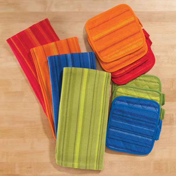 Striped 3-Pc. Kitchen Linen Set