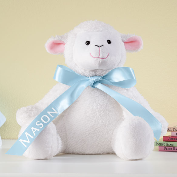 Personalized Easter Lamb