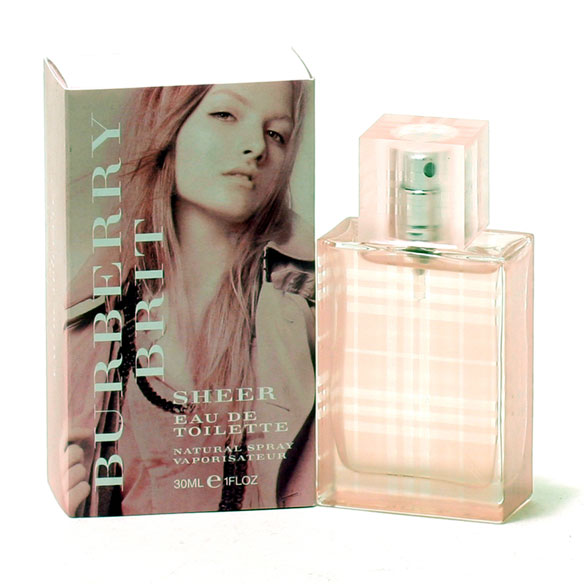 Burberry Brit Sheer Women, EDT Spray