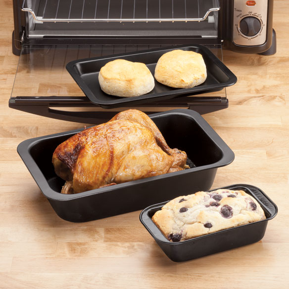 Toaster Oven Bakeware by Home-Style Kitchen™ - Set of 3