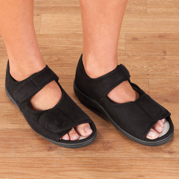 Adjustable Memory Foam Slippers
