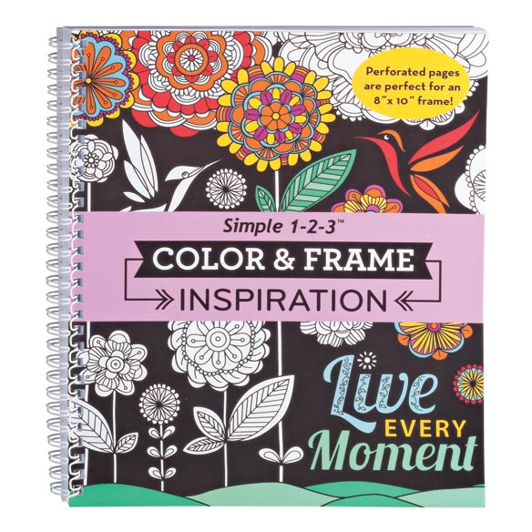 Color & Frame Inspiration Coloring Book