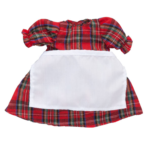 Personalized Little Sister Plaid Dress