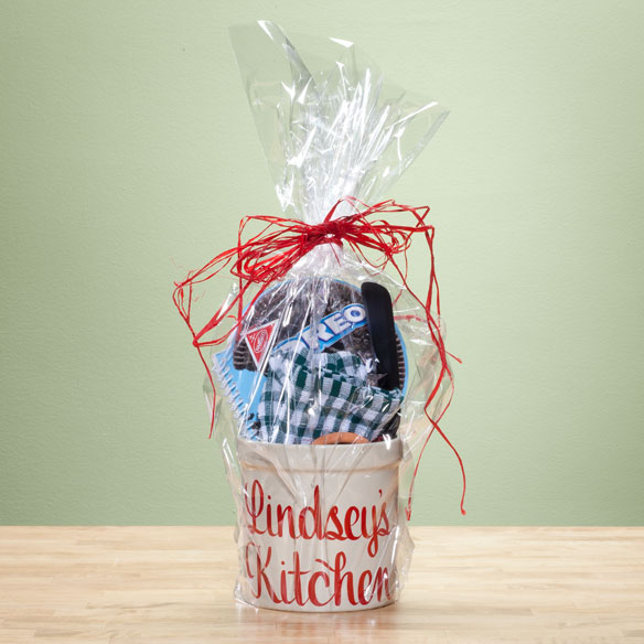 Personalized Kitchen Gift Basket