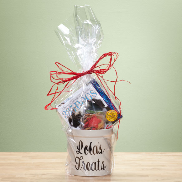 Personalized Dog Lover's Gift Basket