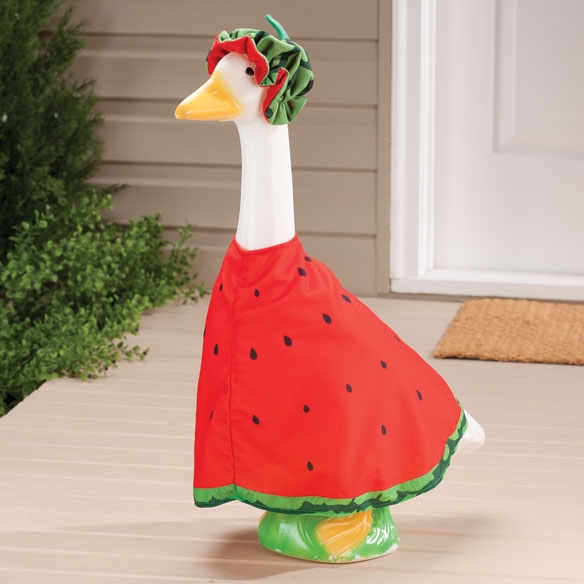 Watermelon Slice Goose Outfit