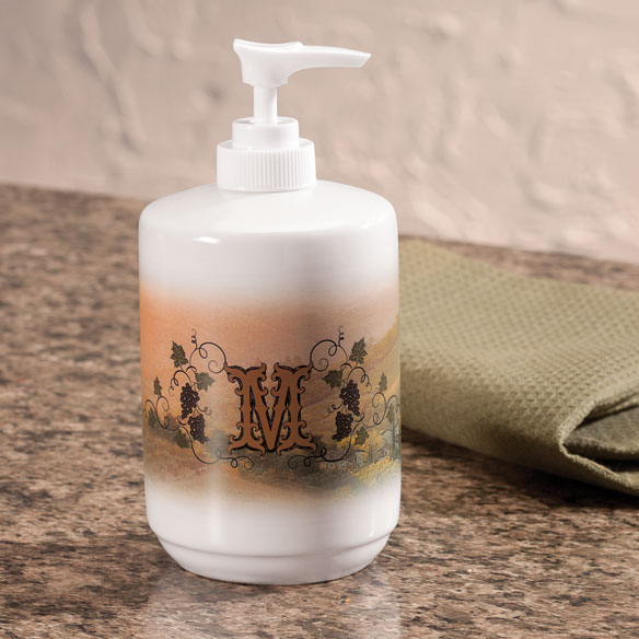 Personalized Tuscan Sunset Soap/Lotion Dispenser