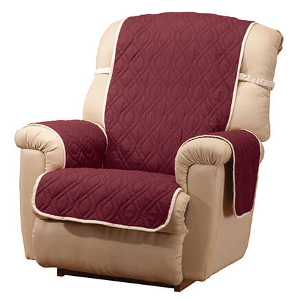 Deluxe Reversible Waterproof Recliner Chair Cover-355161  sc 1 st  Miles Kimball & Slipcovers u0026 Cushions - Slipcovers for Recliners - Miles Kimball islam-shia.org