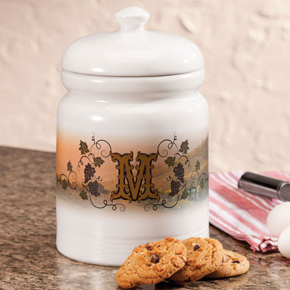 Personalized Tuscan Sunset Cookie Jar
