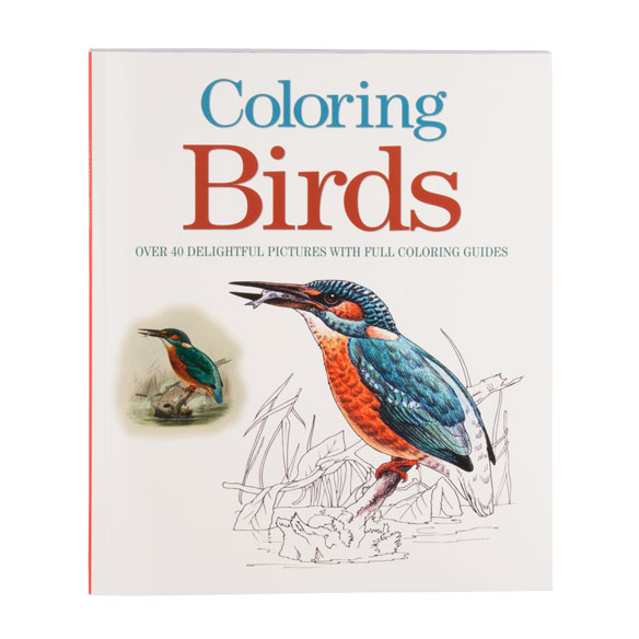 Coloring Birds Coloring Book
