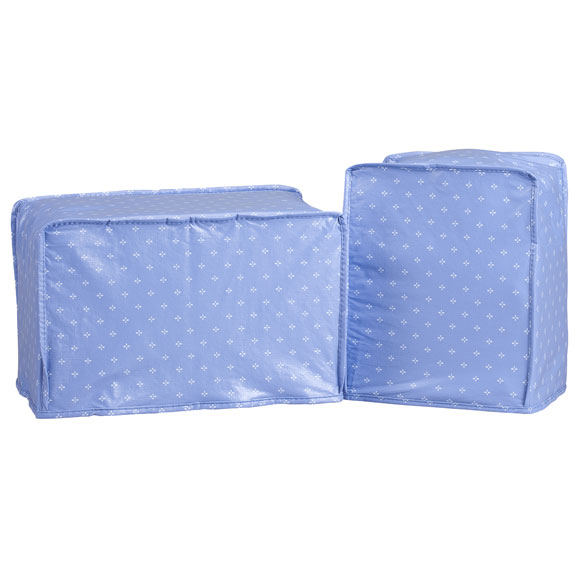 Original Vinyl Can Opener & 2 Slice Toaster Cover Set - Blue
