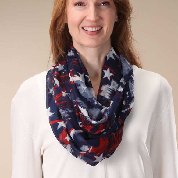 Star Infinity Scarf - View 1