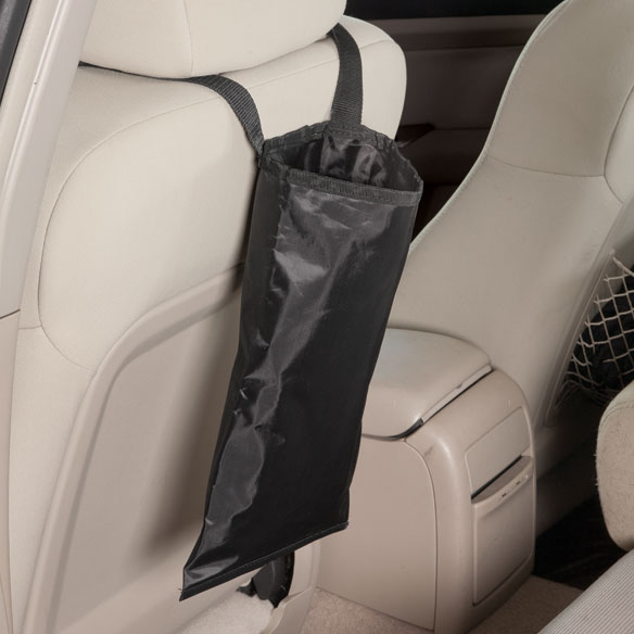 Over-the-Headrest Auto Trash Bag - View 1