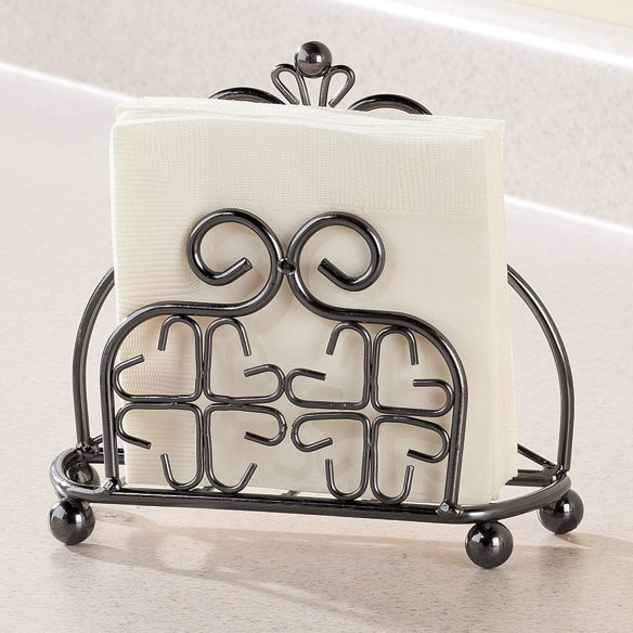 Venetian Metal Napkin Holder