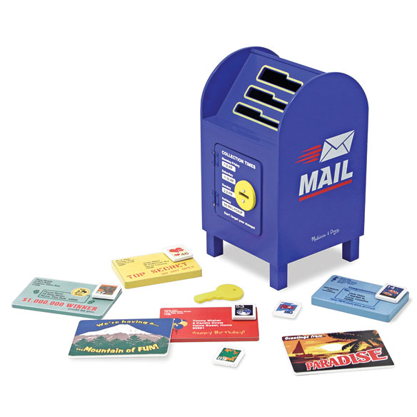 Melissa & Doug® Stamp and Sort Mailbox - View 1