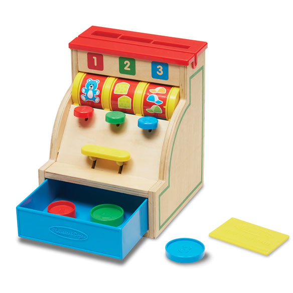 Melissa & Doug® Sort & Swipe Cash Register - View 1