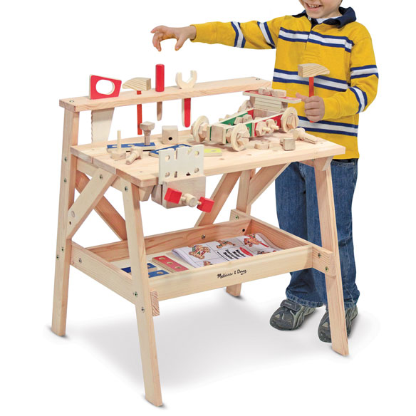 Melissa & Doug® Wooden Project Workbench