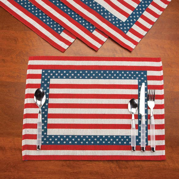Patriotic Placemats - Set of 4