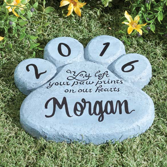 Personalized Pet Memorial Stone - View 1