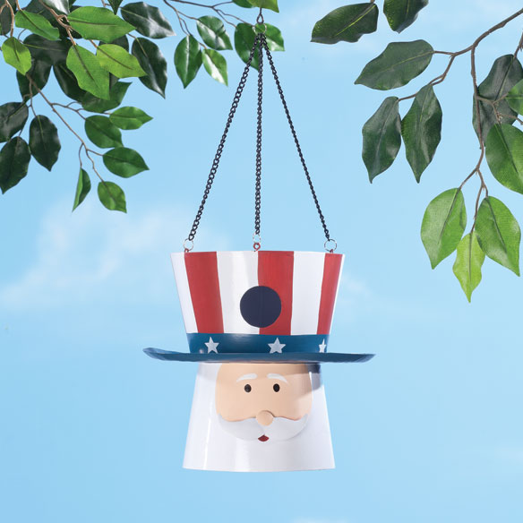 Uncle Sam Birdhouse