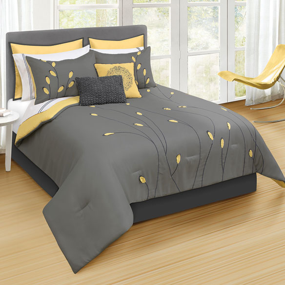 Annalise 8 Piece Microfiber Bed Set