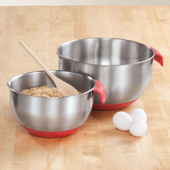 Heavy Duty Mixing Bowls, Set of 2 - View 1