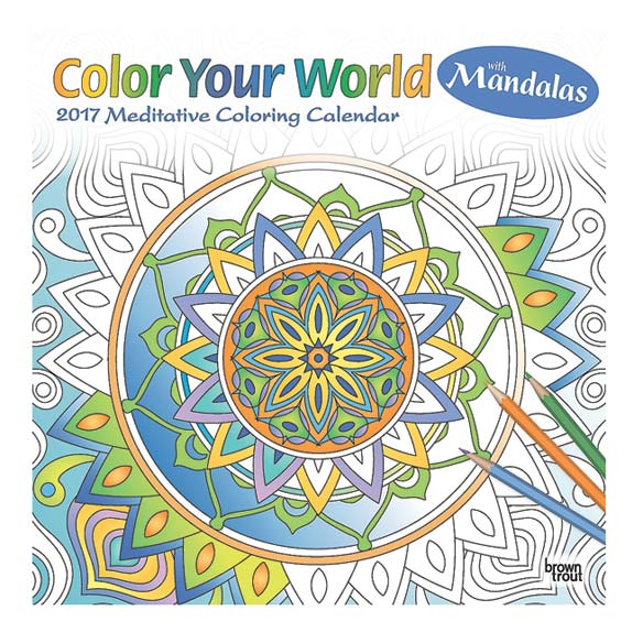 """Color Your World"" Coloring Calendar"
