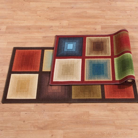 Optics Accent Rug