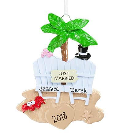 Personalized Wedding Cake Ornament - Christmas - Miles Kimball