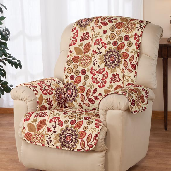 Palladio Print Microfiber Recliner Cover - View 1