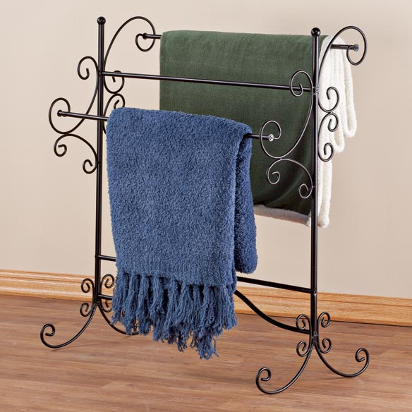 Blanket Storage Rack