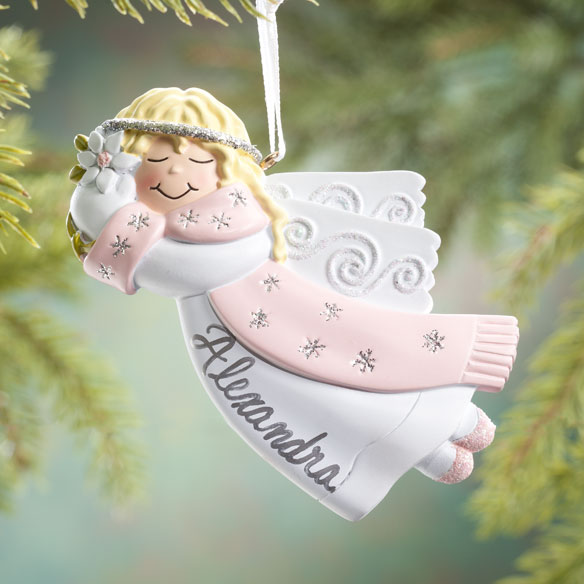 Personalized Flying Angel Ornament