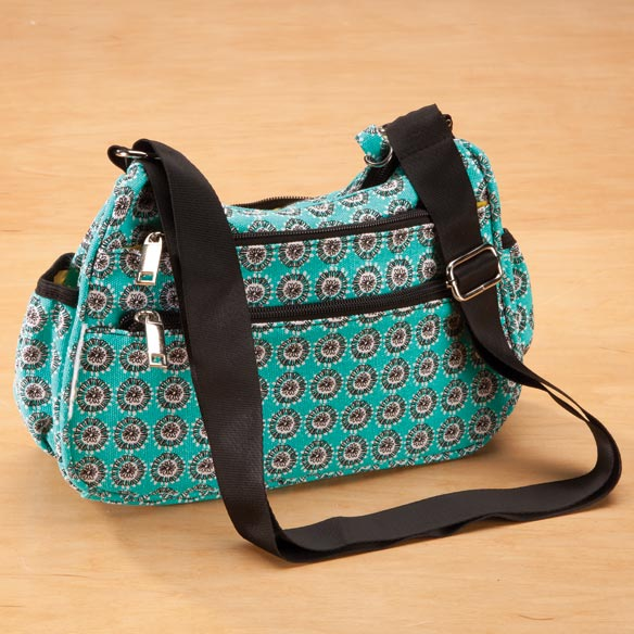 Amylee Weeks Floral Dot Purse