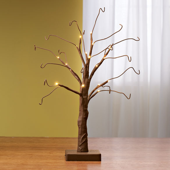 "Brown Wire 18"" All Seasons Tree"