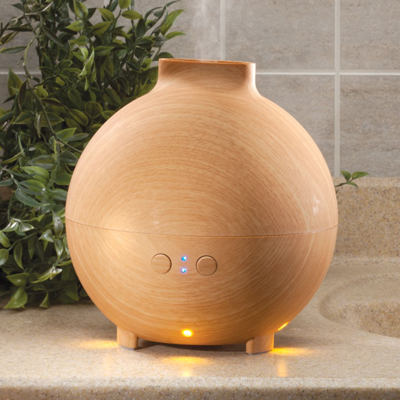 Lighted Oil Diffuser & Humidifier, 600 ml
