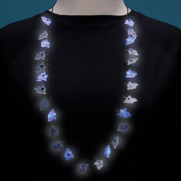 Flashing Ghosts Necklace