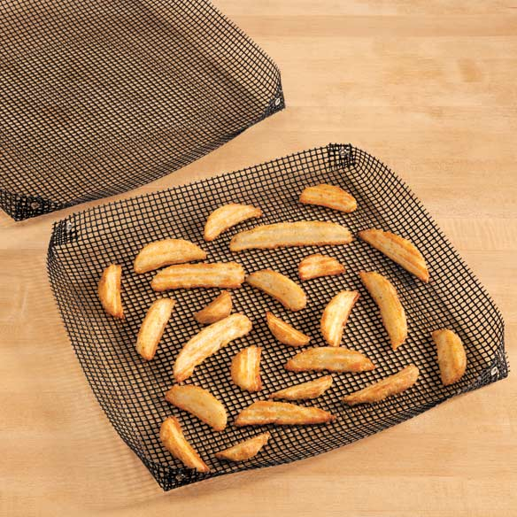 Mesh Cooking Baskets, Set of 2 - View 1
