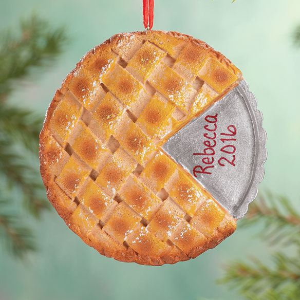 Personalized Apple Pie Ornament