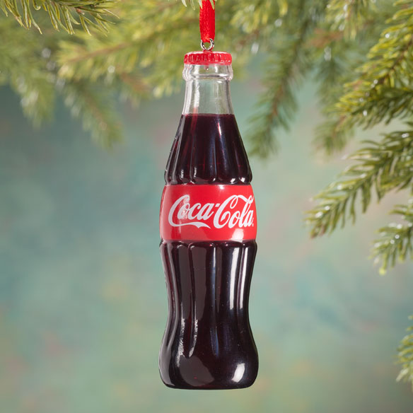 Coca-Cola® Bottle Ornament