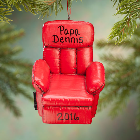 Personalized Recliner Ornament