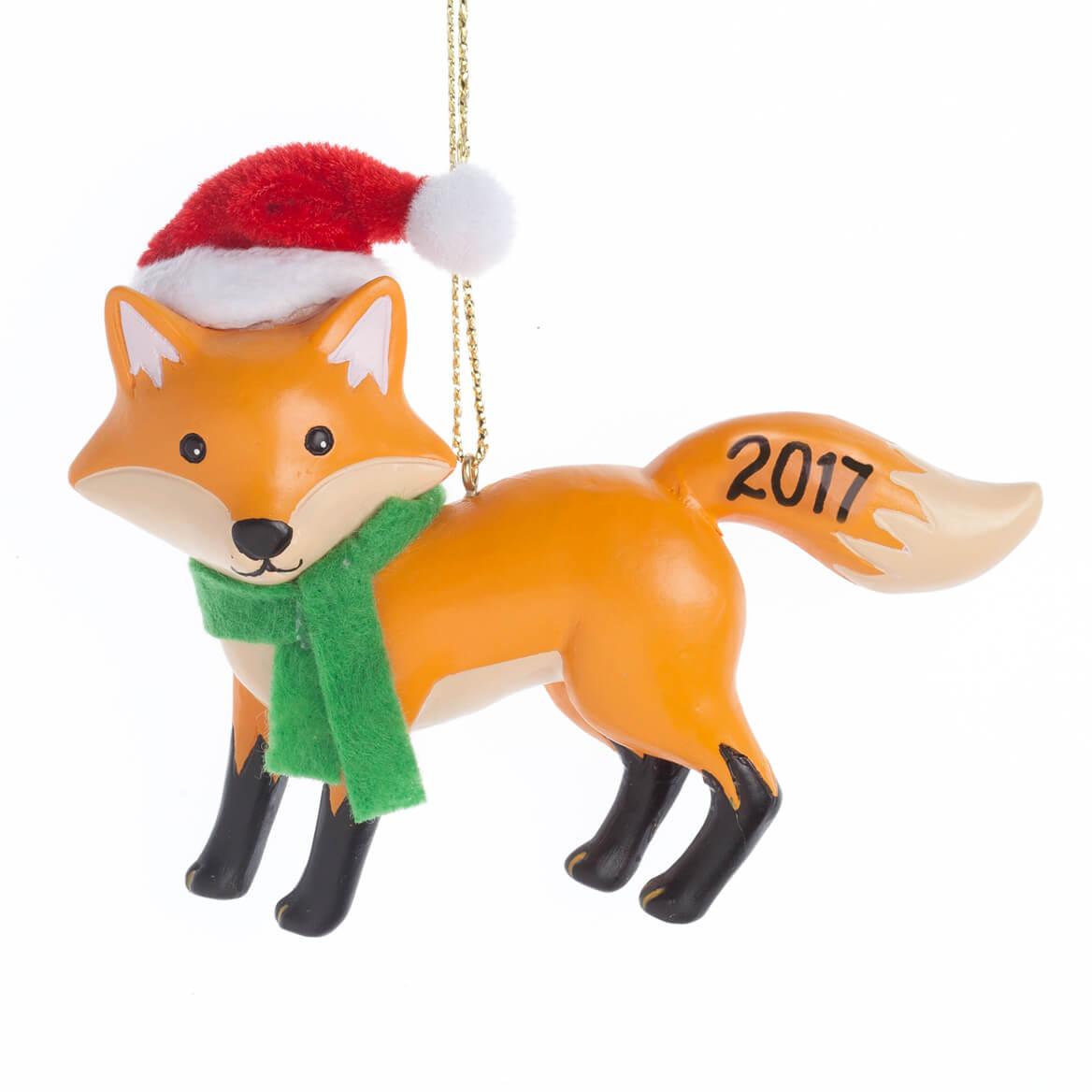 Woodland Fox Ornament - Christmas Ornament - Miles Kimball