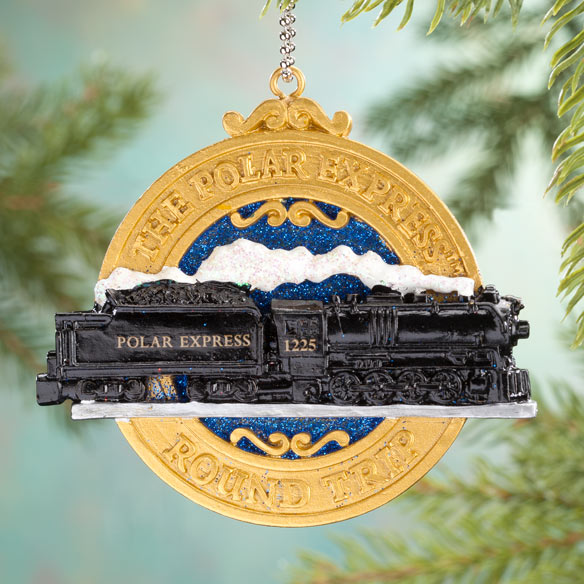 The Polar Express™ Clip-On Ornament/Keychain - View 1